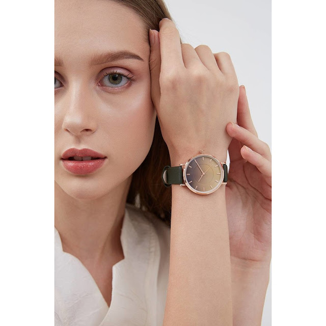 Belle Ocean Gradient Watches Olive