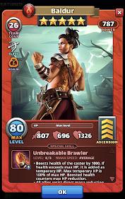 Baldur Hero Card