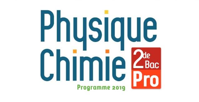 حصريا تحميل كتاب للفيزياء والكيمياء نسخة 2019 للسنة الثانية بكالوريا باللغة الفرنسية