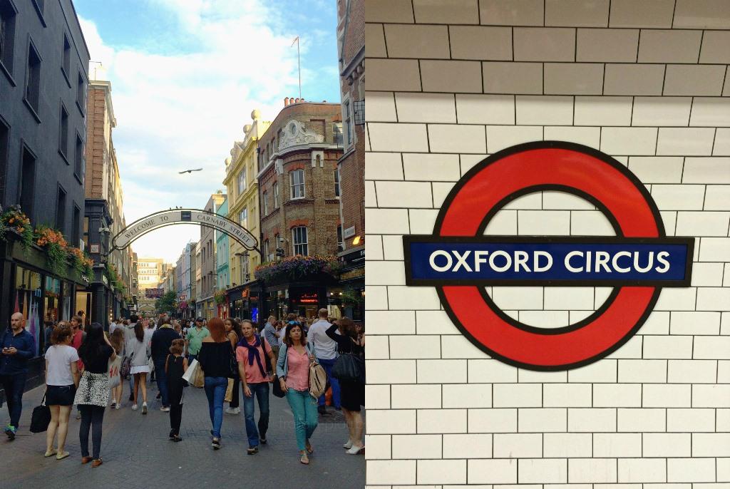 Mittwochs mag ich, London, Carnaby Street, Oxford Circus, Tube, Ausgehtipps Wochenendtipps London, Kurztrip