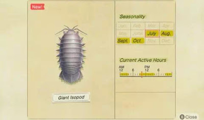 cara menangkap Isopod Raksasa di Animal Crossing New Horizons-2