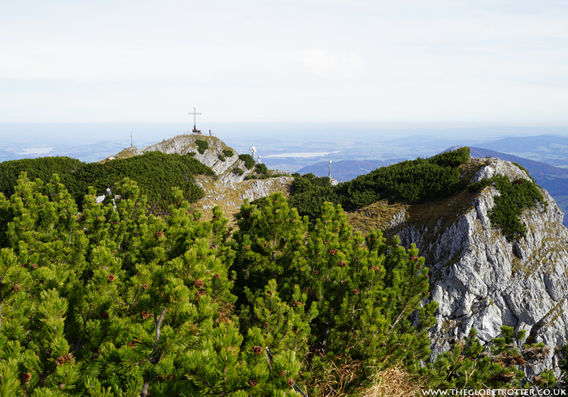 Beautiful panoramic views from the Untersberg mountain in Salzburg