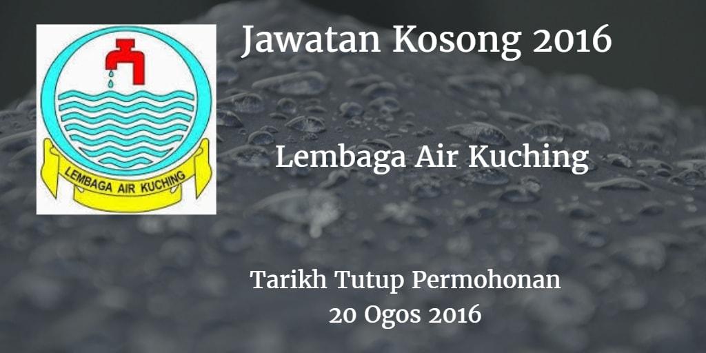 Jawatan Kosong Lembaga Air Kuching 20 Ogos 2016