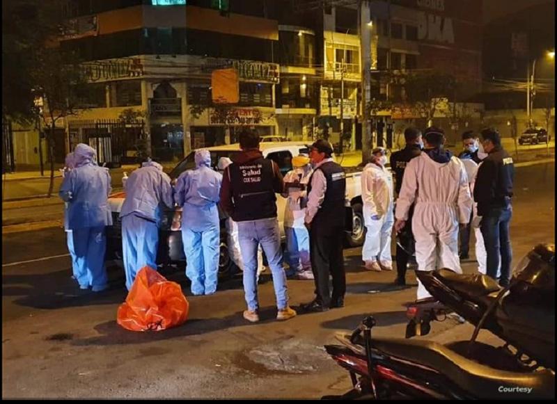 Trece personas murieron y al menos seis resultaron heridos al intentar escapar de discoteca en medio de operativo policial en plena pandemia / CORTESIA