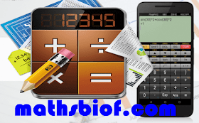calculatrice scientifique Application pour teléphones android-mathsbiof
