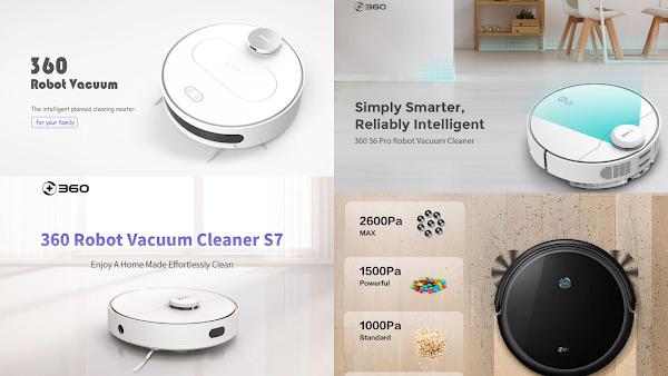 Grande Promoção nos aspiradores inteligentes 360