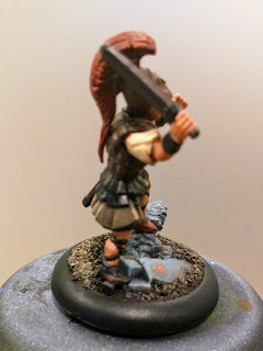 NMM Bronze armour side view