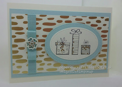 Paperjay Crafts, Bundle of Love DSP and Soft Sky Birthday Card