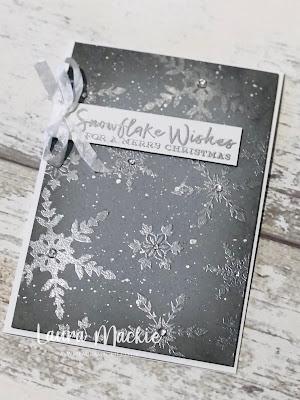 Stampin up Snowflake Wishes Stamp Set