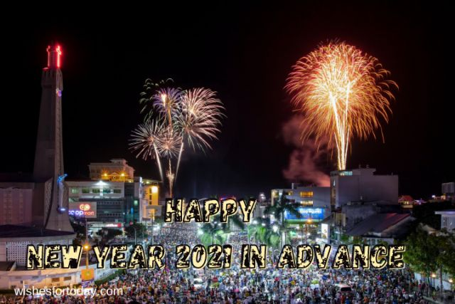 Happy new year 2021 in advance beautiful Images