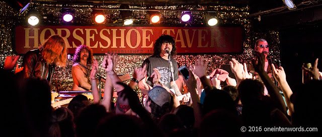 Sticky Fingers at The Horseshoe Tavern in Toronto, April 29 2016 Photos by John at One In Ten Words oneintenwords.com toronto indie alternative live music blog concert photography pictures
