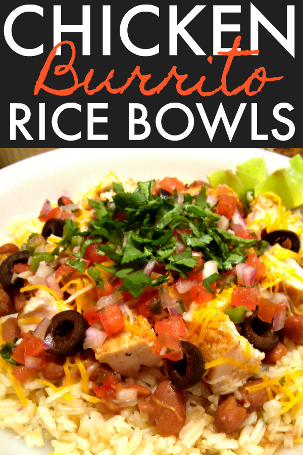 All your favorite burrito ingredients served over an easy, delicious Mexican rice in a bowl or stuffed in a tortilla.