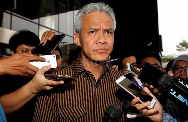 KPK Periksa Ganjar Pranowo dan Mekeng di Kasus e-KTP