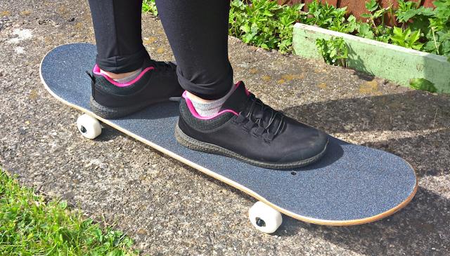 Youngest on skateboard - Feet