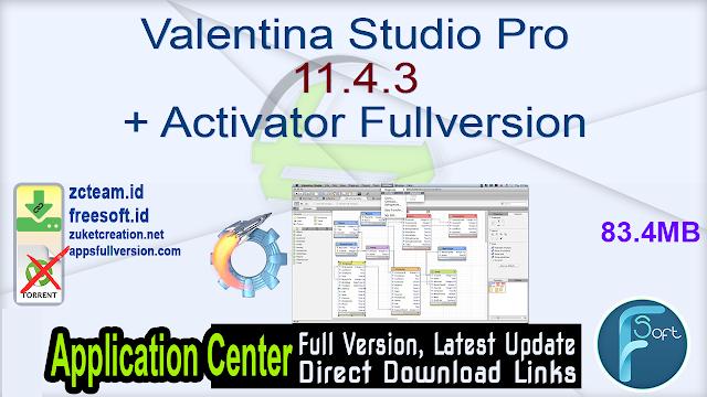 Valentina Studio Pro 11.4.3 + Activator Fullversion