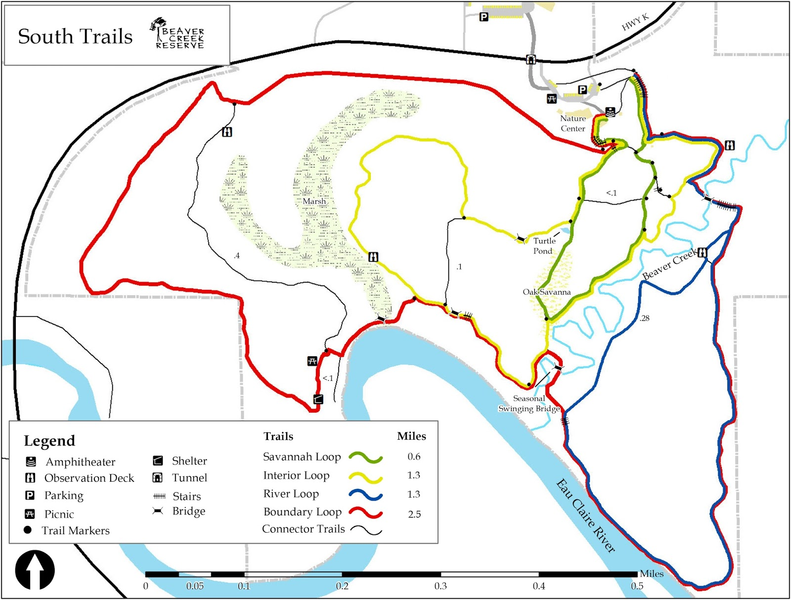 Day Hiking Trails Array Of Trails Await At Beaver Creek Reserve - Beavercreek trail map