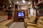 Fifth wheel sales very good for michigan dealer veurink - Infinity fifth wheel front living room ...