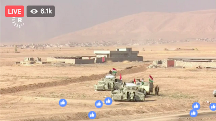 Mosul Battle Facebook Livestream