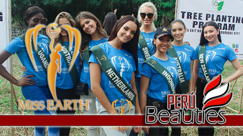 Miss Earth 2017 | Tree Planting with Rotary Club of Makati Central