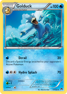 Golduck BREAKpoint Pokemon Card