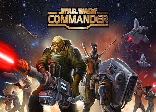 لعبة حرب النجوم كوماندر Star Wars Commander