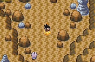 Pokemon Dragon Ball Z Legend of Kakarot para GBA Goku Nube Voladora