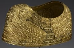 Images of the Bronze Age Cape of Gold from Mold, Wales are copyrighted by the Trustees of the British Museum
