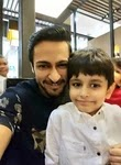 Shalin Bhanot with her son