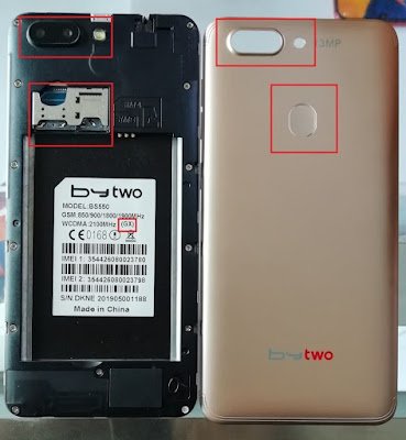 Bytwo BS550 Flash File (GX) MT6580 LCD Fix Hang Logo & Dead Recovery Stock Rom
