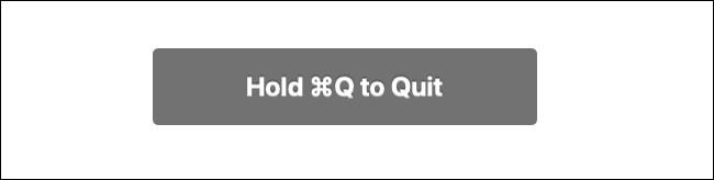 لإنهاء Chrome على Mac ، اضغط مع الاستمرار على Command + Q.
