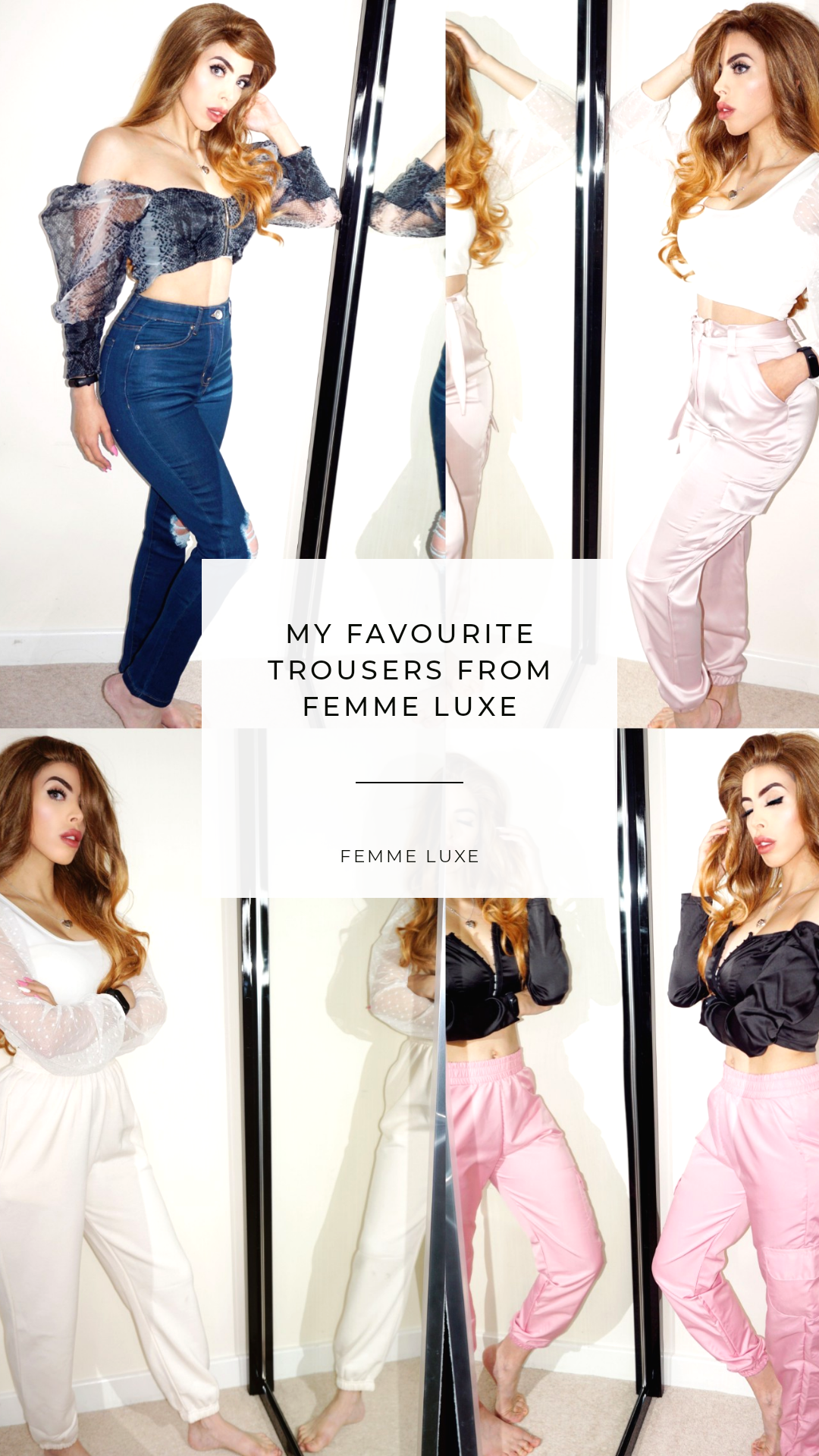 Best trousers from Femme Luxe