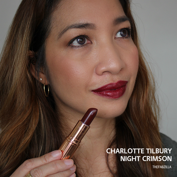 charlotte tilbury night crimson