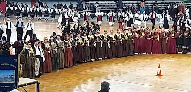 Γιάννενα: Χορευτές Και Χορεύτριες Από Όλα Τα Κ.Α.Π.Η. Του Ν.Π.Δ.Δ. Ο.Κ.Π.Α.Π.Α. Του Δήμου Ιωαννιτών Στην Πίτα Του Ηπειρώτη