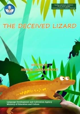 Cerita anak : The Deceived Lizard (Bengkarung terpedaya)