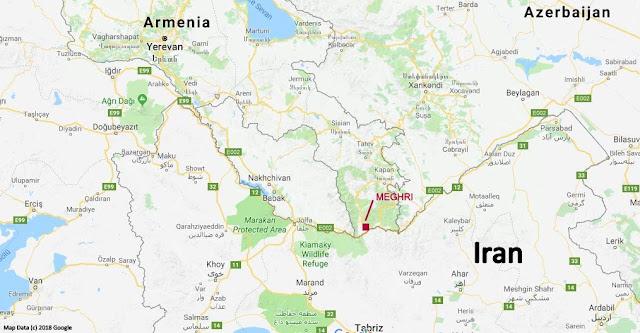 Iran Armenia Border - Meghri