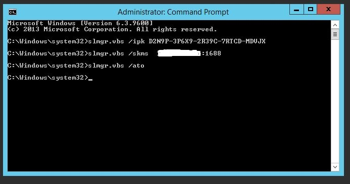 SysAdmino's E-Diary: KMS Activation Method's: