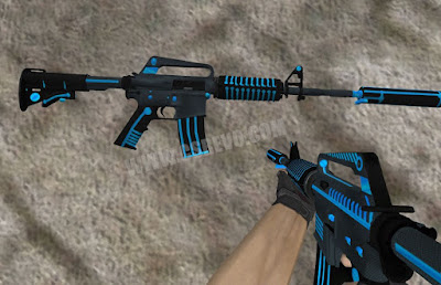 Skin M4A1 - Plasmax - HD CS 1.6