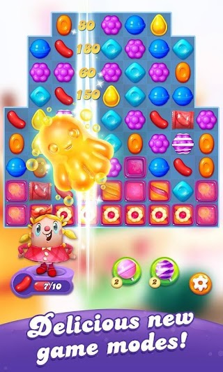 Candy Crush Friends Saga v 1.34.4 MOD APK (Unlimited Lives)