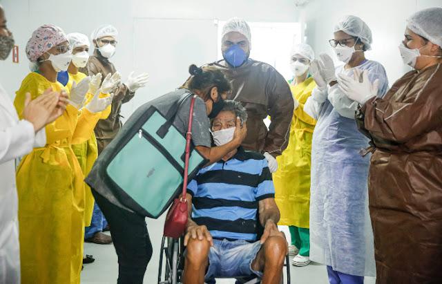 Brasil registra mais de 8 milhões de recuperados da Covid-19
