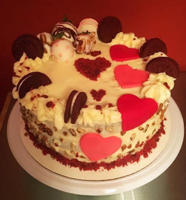 6 Contoh Dekorasi Cake Ultah Model terbaru 2017 Yang Simple
