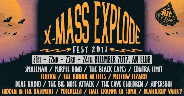 [News] X-Mass Explode FEST 2017