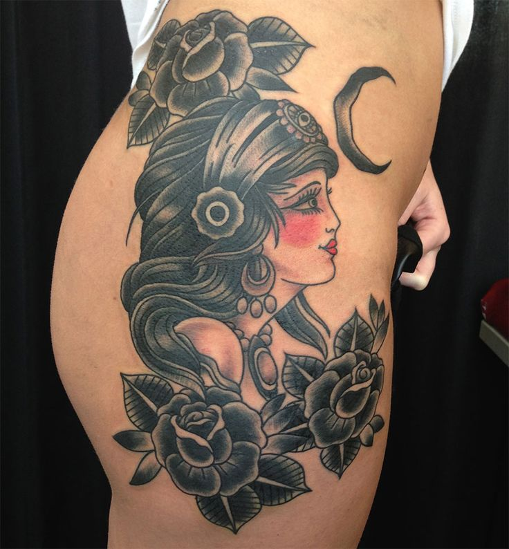 10 Stunning Gypsy Tattoos For Women