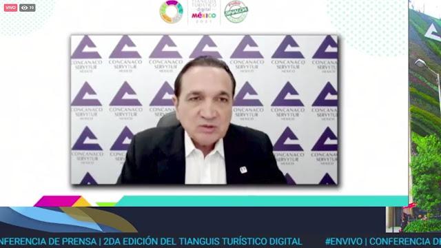 La innovación y la tecnología serán los mejores aliados para la recuperación económica del turismo: Concanaco Servytur