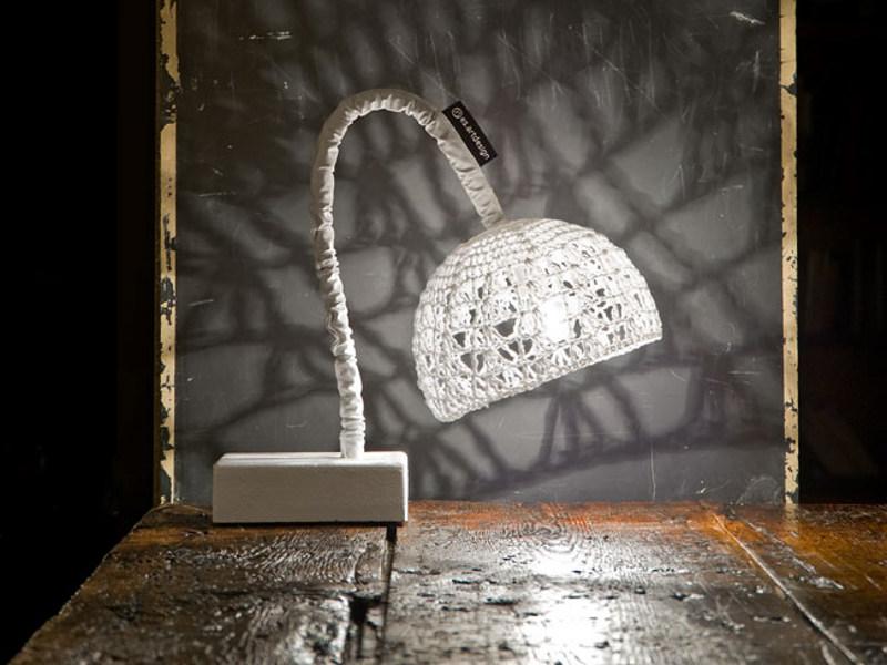 lampada da tavolo collezione Trame In-es.artdesign