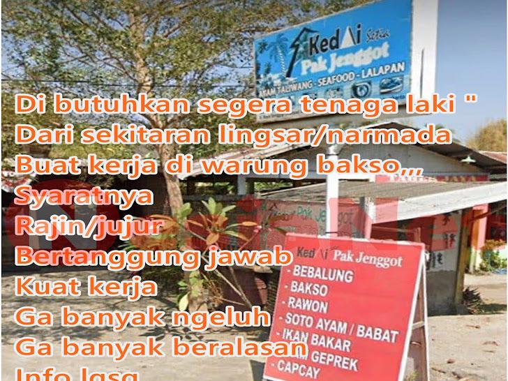 Lowongan Kerja Kedai Pak Jenggot Batu Layar Lombok Barat NTB