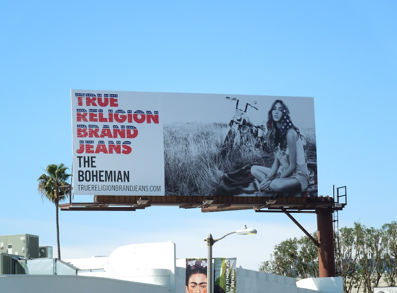 True Religion Bohemian American billboard