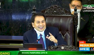 Ramai Tagar Hina DPR, Azis Syamsuddin: Kalau Tak Percaya Jangan Pilih Lagi