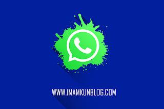 Cara Membuat Live Chat Whatsapp di Blogger Terbaru