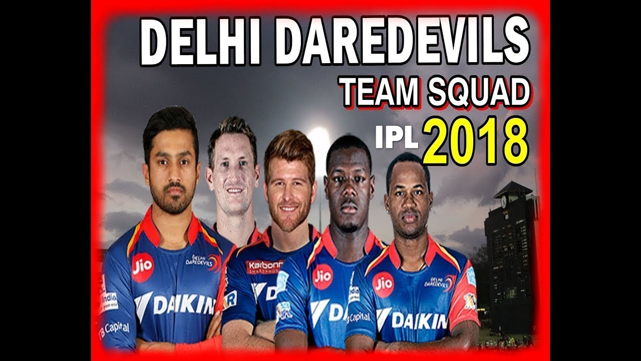 delhi daredevils team 2018 ipl