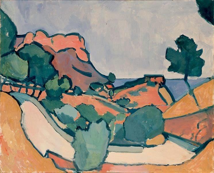 Estradas nas Montanhas - André Derain e suas principais pinturas ~ (Fauvismo) Francês